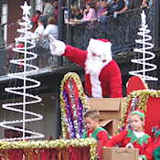 Rain or shine the Natchitoches Christmas Festival will go on!