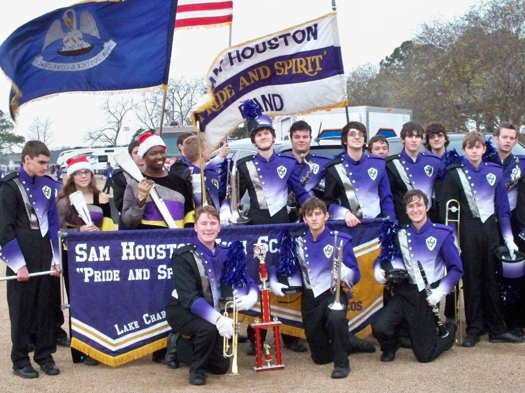 Sam Houston HS Band - Most Holiday Spirit